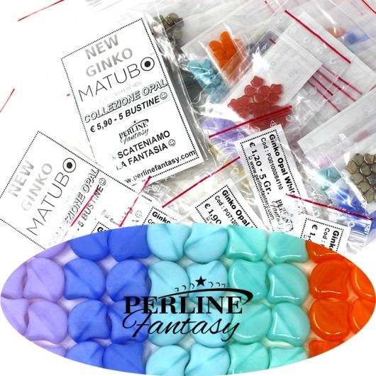 Kit Perline Ginko Opal Dark Violet Mat