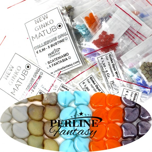 Kit Perline Ginko Opal Grey Mat