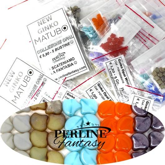 Kit Perline Ginko Opal Grey Mat