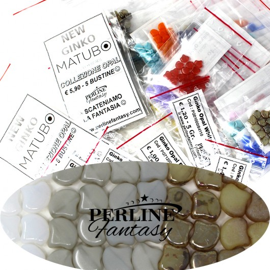 Kit Perline Ginko Opal White