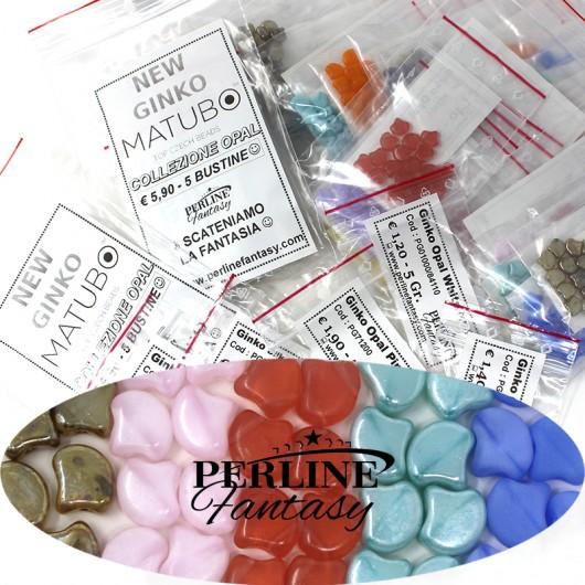 Kit Perline Ginko Opal Pink
