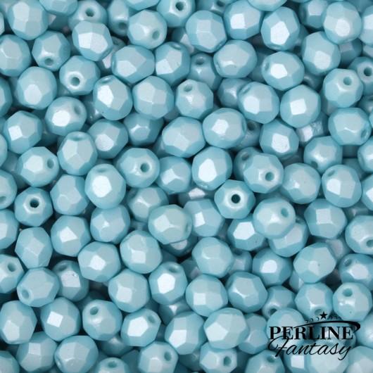 Mezzi Cristalli 4 Mm Powdery Pastel Turquoise