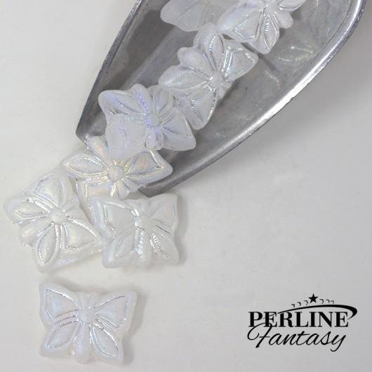 Farfalla Crystal Full AB Matte 15 x 12 Mm