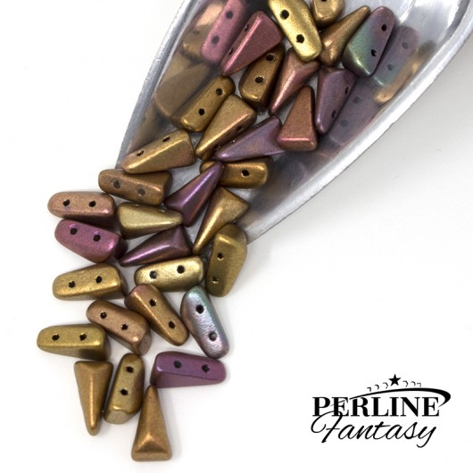 Perline Vexolo® Purple Iris Gold