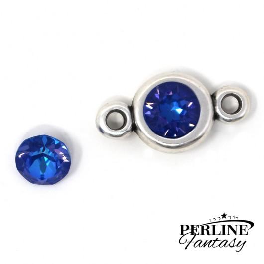 Chaton (1088) Swarovski Crystal Royal Blue DeLite SS39