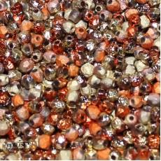 Mezzi Cristalli 3 Mm Crystal Etched California Gold Rush