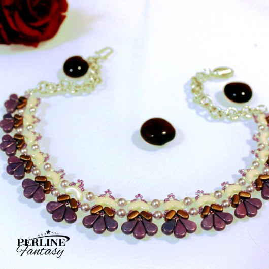 Kit Collier ''Amour'' Versione Amethyst  And Copper
