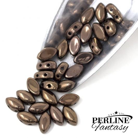 Perline IrisDuo Dark Bronze