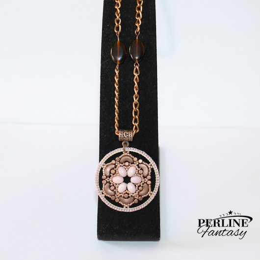 Kit Collana ''Sasha'' Copper & Rose