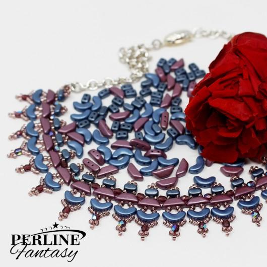 Kit Collana ''Esmeralda'' Versione Blue And Violet