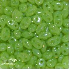 Miniduo Opal Green White Luster