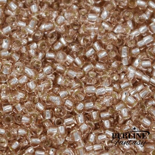 Rocailles Toho 11/0 Silver Lined Rosaline